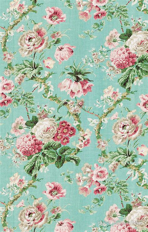 vintage flower wallpaper  iphone wallpapersafari