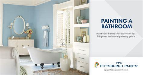 Bathroom Colors How To Paint A Bathroom!