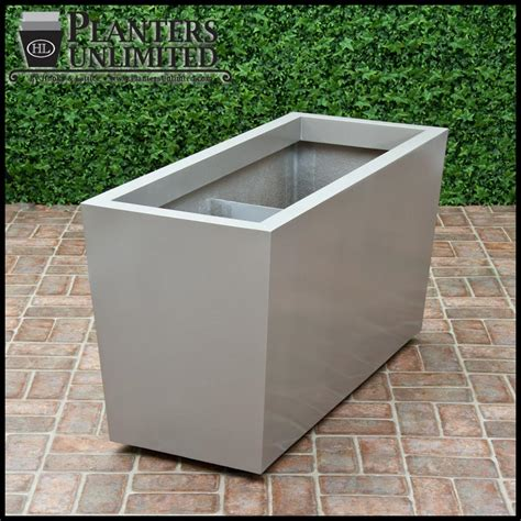 Planters With Wheels modern tapered planter on wheels