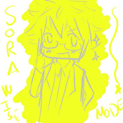 doodle mode sora wise mode doodle by tsurakeru on deviantart