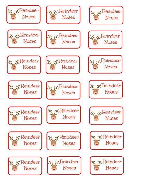 easy gift idea reindeer noses coupon closet