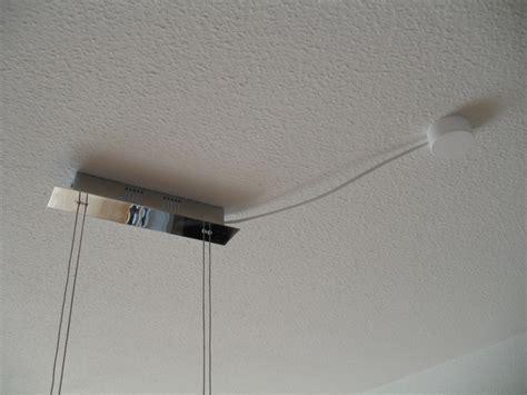 decke kabel verstecken len kabel an decke verlegen elektrik bauen