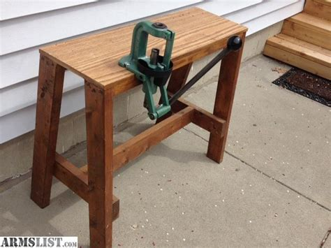 rcbs reloading bench plans armslist for sale rcbs reloading press and bench
