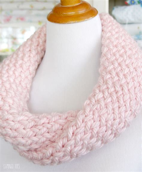 easy loom knitted scarf and easy knitting loom cowl