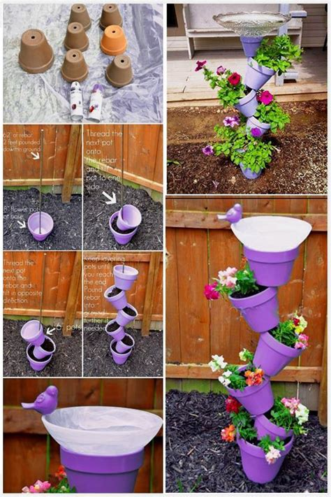 garden diy crafts cool diy projects for home improvement 2016