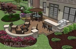 patio for backyard entertaining outdoor fireplaces
