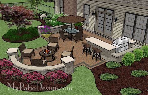 Backyard Layout Ideas Patio For Backyard Entertaining Outdoor Fireplaces Pits Yard Decorations Pinterest