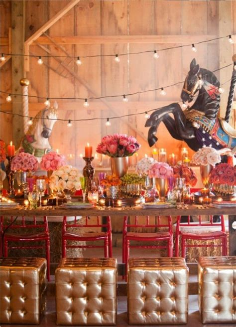 razzle dazzle them 24 circus themed wedding inspirations more happenings and themed weddings