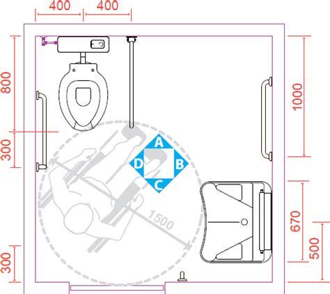 progetto bagno disabili i suggerimenti ponte giulio per un bagno disabili a norma