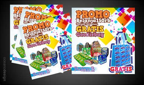 desain grafis yogyakarta brosur b project butik daur ulang jasa desain grafis jogja