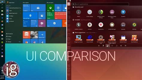 11 free and best linux windows 10 vs linux ui comparison