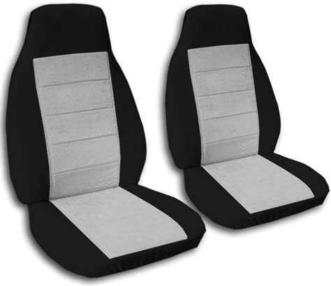 back car seat covers two tone car seat covers front semi custom black