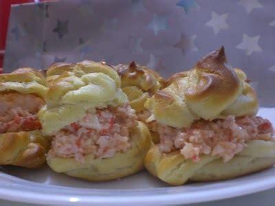 profiteroles salados rellenos profiteroles salados karmencc receta canal cocina