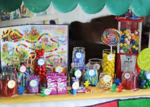 Candy Party Decorations Candy Land Birthday Party Living Locurto