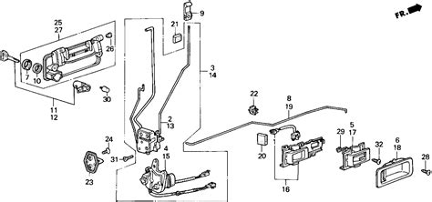 car door lock parts diagram car door latch diagram door handle mechanism diagram