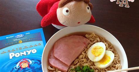 film ramen fiction food caf 233 ramen soup w ham from quot ponyo quot