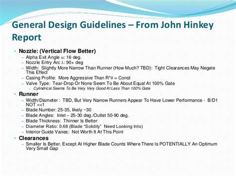 nozzle design criteria waterfall turbine development primer updated