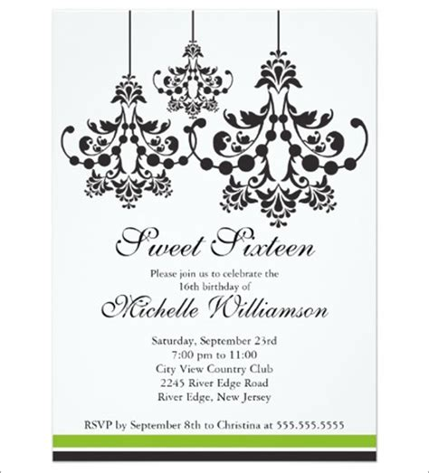 9 formal party invitations designs templates free