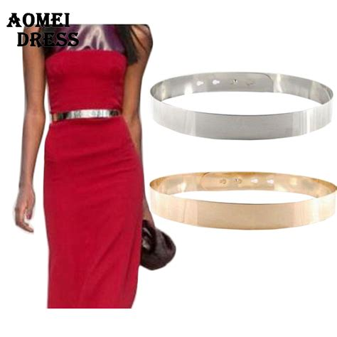 silver golden alloy waist belt sashes gold fashion