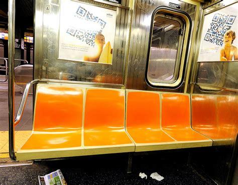 car upholstery nyc interior of nyc mta car flickr photo sharing