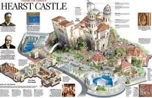 hearst castle floor plan image gallery hearst castle map