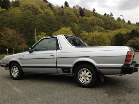subaru brat 2013 nicest we ve seen 1984 subaru brat bring a trailer
