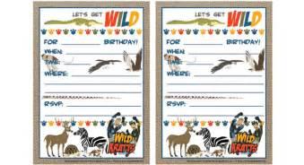 wild kratts birthday printables birthday party pbs