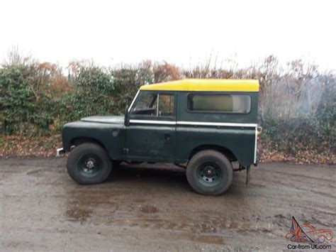 1969 land rover series 2a 88 quot diesel galvanised chassis
