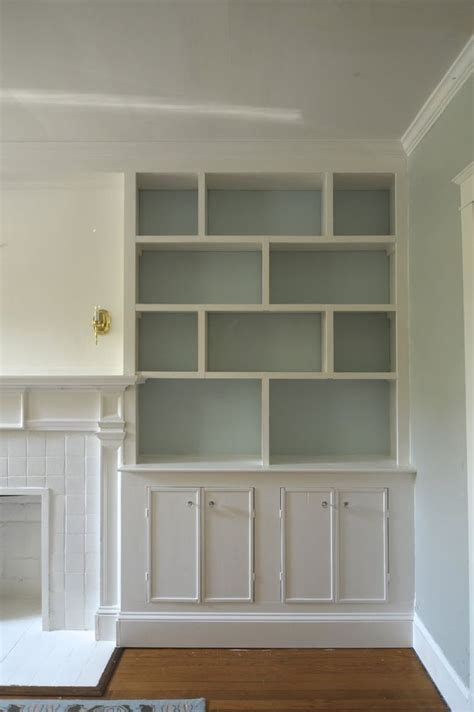 ideas for built in bookshelves 1000 ideas about sherman williams on sherman williams paint blue gray walls and