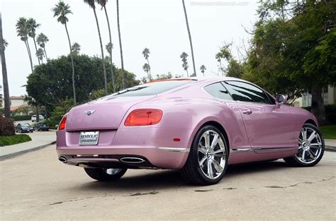 bentley car pink pink 2012 bentley continental gt for sale autoevolution