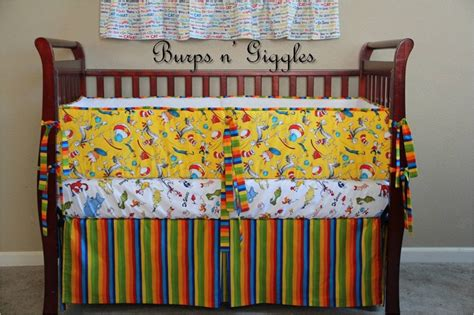 Cat In The Hat Crib Bedding Set 17 Best Images About Dr Seuss Nursery Bedding On Pinterest Cats Baby Crib Bedding And Quilt