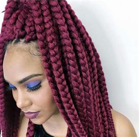 color braids 10 trending coloured braids for how