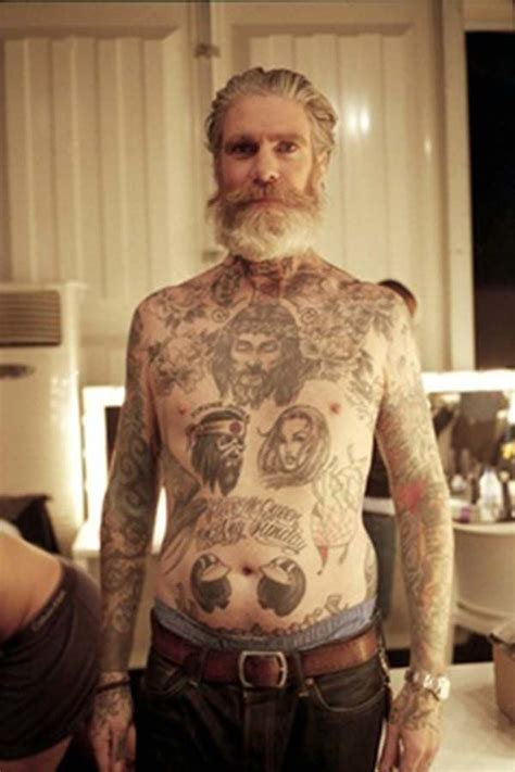 old people with tattoos ink pinterest