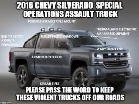 chevy assault truck imgflip