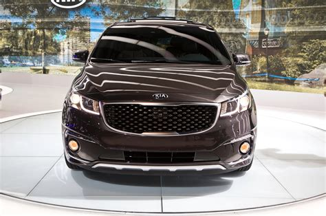 Kia Vans 2015 2015 Kia Sedona Look Photo Gallery Motor Trend