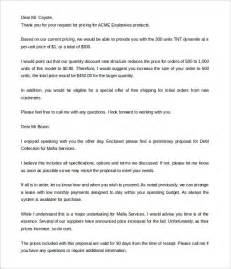 Business Letter Samples Free 5 proposal letter templates free sample example format