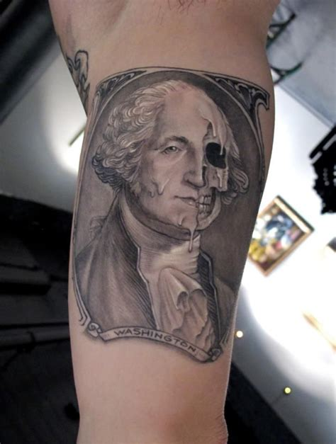 washington tattoo past and future presidents of the united states tattoos