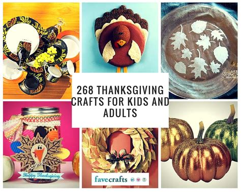 268 thanksgiving crafts for kids and adults favecrafts com