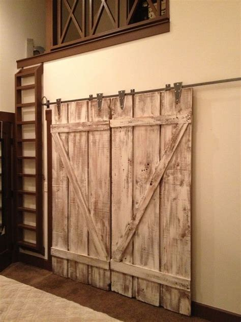 How To Build An Interior Barn Door Barn Style Interior Doors It Interior Design White Washed Barn Doors For The Home