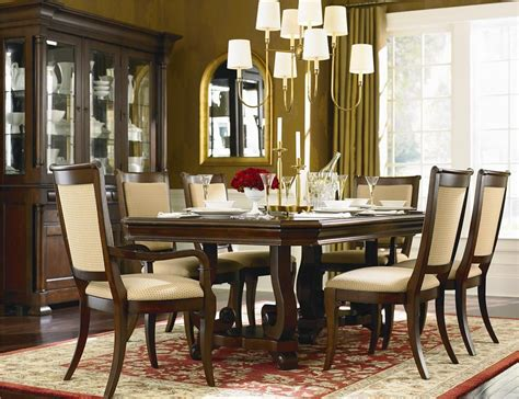 awesome louis philippe 7 dining room set bassett