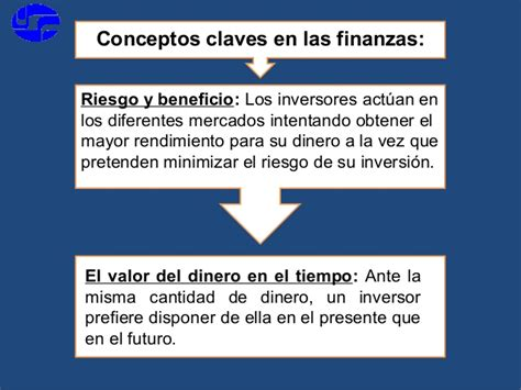 conceptos de finanzas ii las finanzas