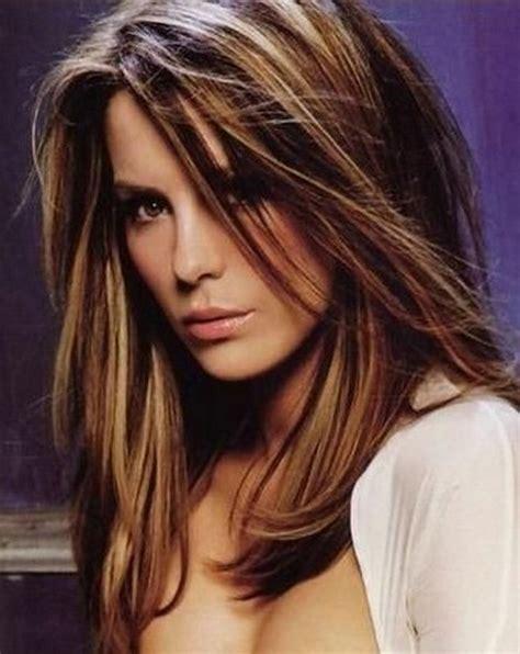 chestnut hair color with caramel highlights nice highlight colors for brown hair hair pinterest