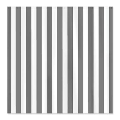 gray striped shower curtain cheap gray striped shower curtain by cafepress white on
