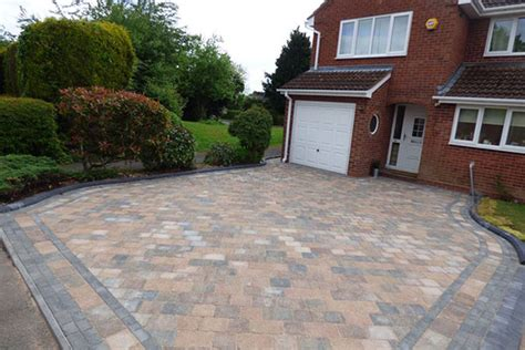 new block paving driveway in redditch by aspire drives