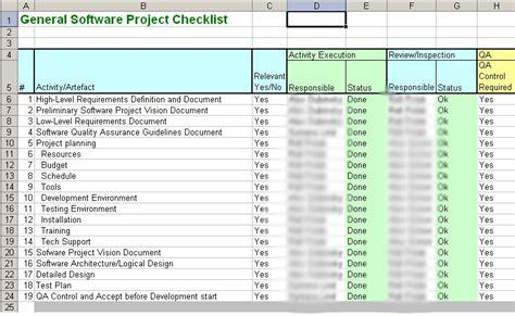 Iso 9001 Certification For A Software Development Department Sashadu On Software Development Software Development Checklist Template Excel