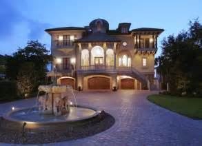 Luxury Dream Home Plans Venetian Italian Style Villa Luxury Home Design