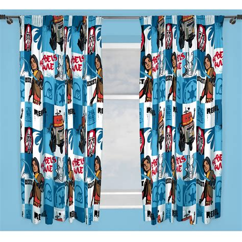 starwars curtains star wars curtains rebels ep7 designs choose from 54