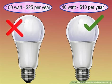 how to save money on electricity wikihow
