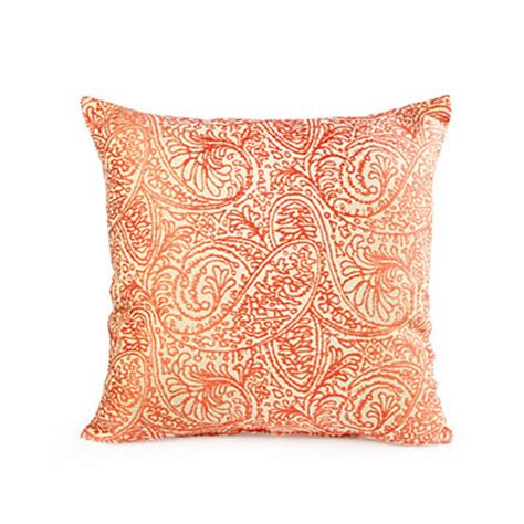 big lots throw pillows for view coral paisley decorative throw pillow deals at big lots