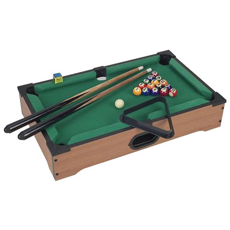 trademark mini table top pool table with